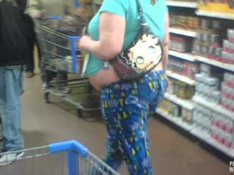 Funny, Weird, Crazy, Strange People Of Walmart