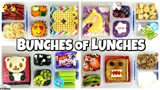 ALL SANDWICHES! School LUNCH IDEAS for JK, 1st Grader, 3rd Grader 🍎 Bunches of Lunches