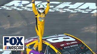 Kyle Busch scores third-straight victory   2018 RICHMOND   FOX NASCAR