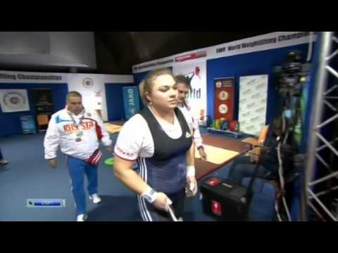 Tatiana Kashirina World weightlifting championships 2013 75+