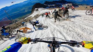 MEGAVALANCHE 2019, THE CRAZIEST MTB MASS START RACE IN THE WORLD, CARNAGE!!! #OiOi