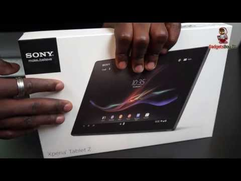 Sony Xperia Tablet Z Unboxing and First Look