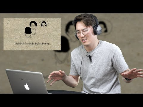 "Reaction orang korea dengar lagu indonesia ""Asal Kau Bahagia"" by ARMADA | Lelaki Korea LELKO"