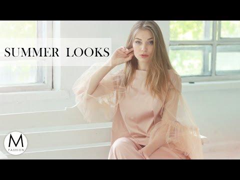 5 прекрасных аутфитов для летних вечеров | Lookbook