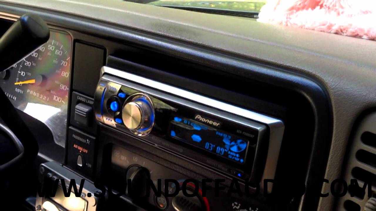 Chevy Ext Cab Speaker Box