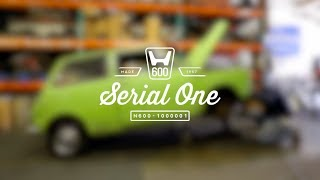 Small Car, Big Dreams: Restoring Serial One, the First Honda Car in the U.S.