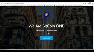 Over Review: BitcoinOne Project