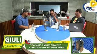 Luciano Rodrigues nos Corneteiros 93, Esporte com bom humor.  Edição de 22/02/2019.