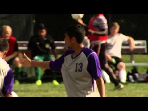 Montgomery College's Sergio Navarrete Goal vs. Frederick CC, 9-19-2013