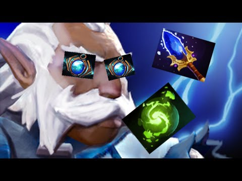 Mister Press R Twice | Zeus With Aether Lens DotA 2