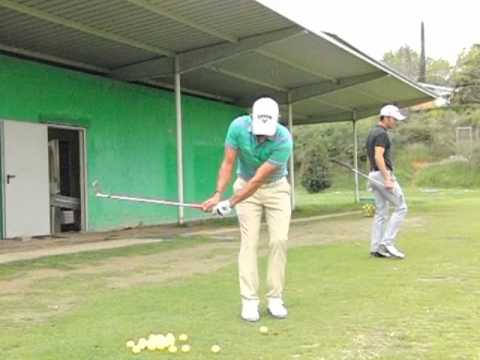Andy Gordon Performance Golf Coach - Pablo larrazabal