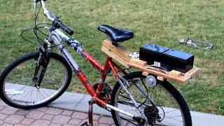 How to Make an Electric Bike - Simple and Cheap