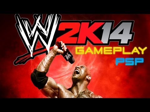 WWE 2K14 - PSP - GAMEPLAY / REVIEW - ¡Problemas!