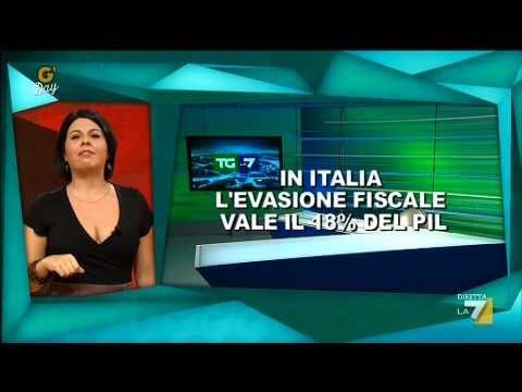 G'day – G'DAY con Geppi Cucciari 16/11/2011 – Anticipazione dei titoli del TG LA7 di Enrico Mentana