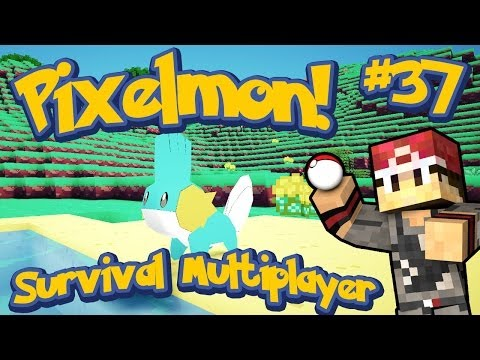 Pixelmon Survival Multiplayer Episode 37 - Glitchy Mudkip?