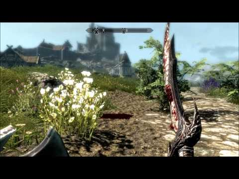 (XBOX/PC) How to Level up your Skyrim Character SUPER FAST!