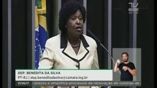 Dep. Benedita da Silva (PT-RJ) fala sobre a prisão de mulher grávida por furto em mercado