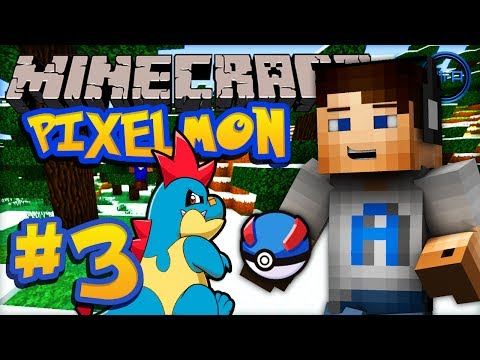 Minecraft PIXELMON - Episode #3 w/ Ali-A! -