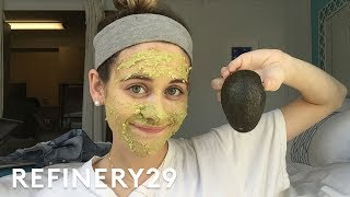 5 Days Of A No Makeup Challenge   Try Living With Lucie   Refinery29