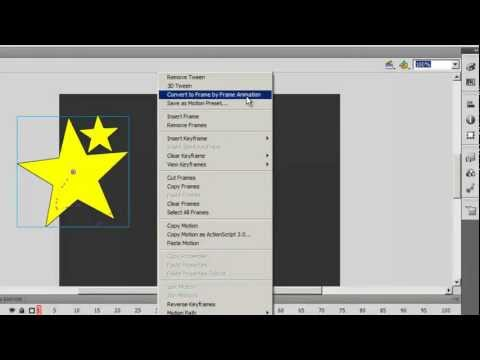 Flash CS 5.5  Tutorial : MotionTween: Detailed Information