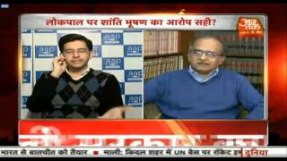 Prashant Bhushan bashing Raghav on Jokepal Debate