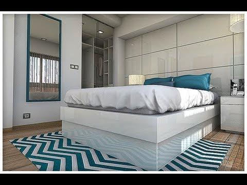 Diseño Interior: Dormitorio luminoso con baño y vestidor ...