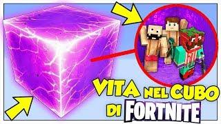 SI PUÒ SOPRAVVIVERE NEL CUBO DI FORTNITE? - Minecraft ITA