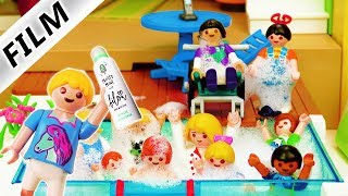Playmobil Film deutsch | SCHAUMPARTY bei Hannah Vogel | Bilou Frosty Mint Pool Party | Kinderserie