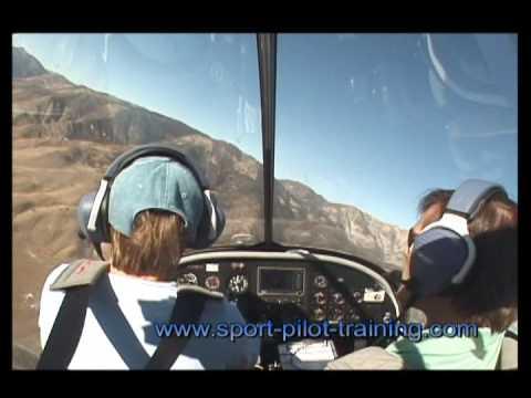 Flying Evektor SportStar LSA with Paul Hamilton
