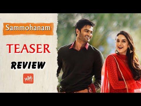 Sudheer Babu's Sammohanam Teaser Review…. | Aditi Rao Hydari | YOYO Times