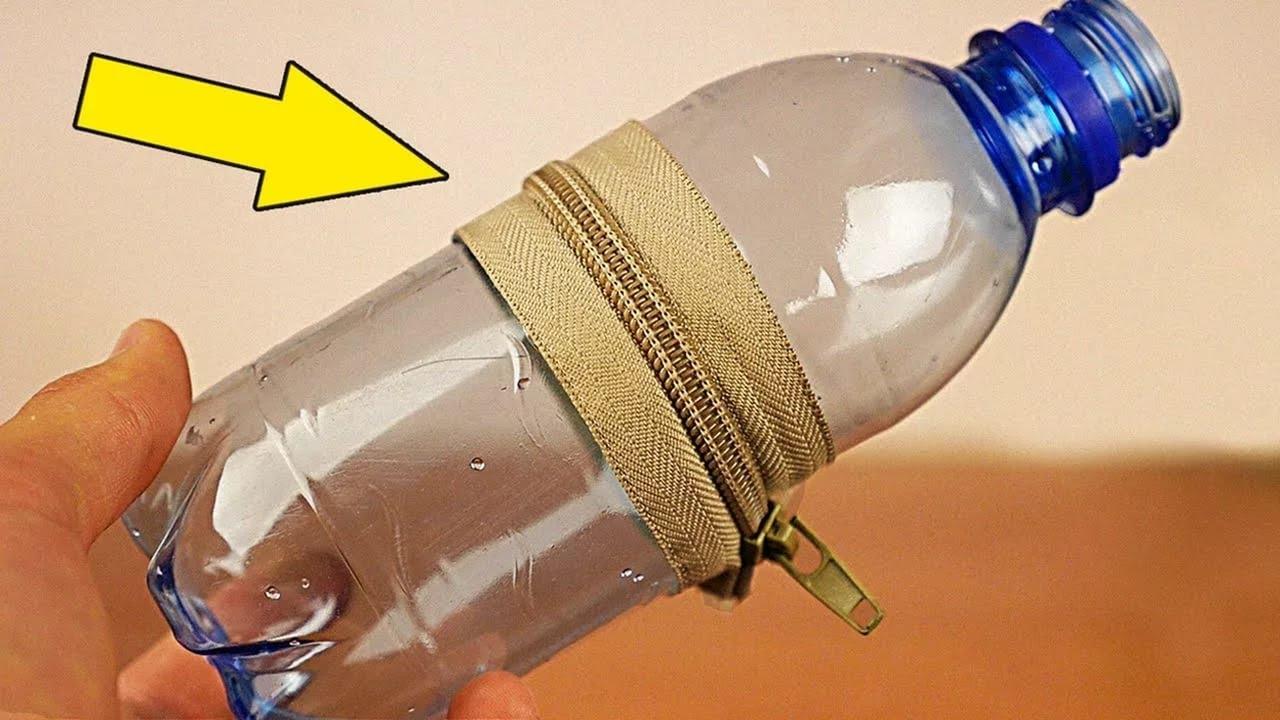 Красивые вещи из бутылки пластиковой своими руками