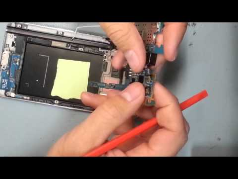 Samsung Note 3 charging port fix. screen replacement video. complete tear down