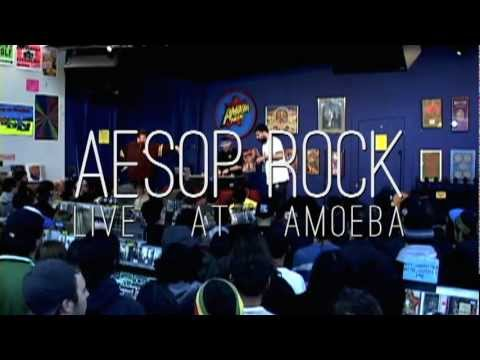 Aesop Rock - ZZZ Top (Live at Amoeba)
