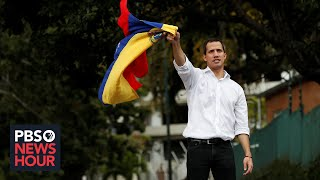 Threatened with violence, Venezuela's Juan Guaido on finding 'urgent solution' to crisis