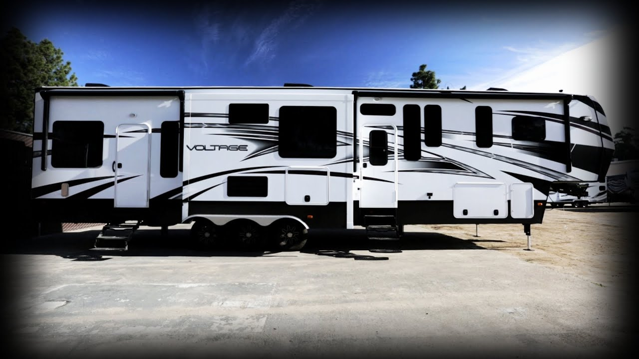 Top 5 Luxury 5th wheel Toy Haulers iRV2 Forums inducedfo