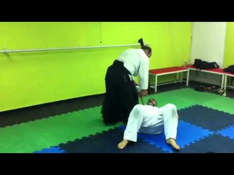 Aikido training using Tanto (knife) Image 1