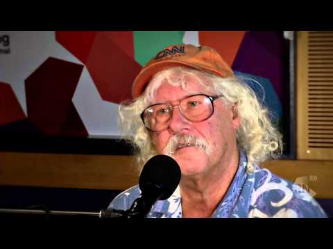 Arlo Guthrie - American folk music legend on tour in Australia [HD] ABC Radio National Breakfast
