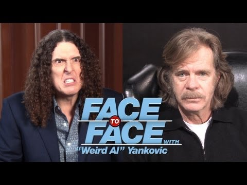 WILLIAM H. MACY goes Face to Face with