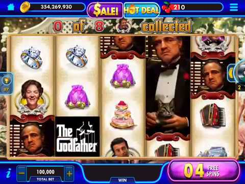 """THE GODFATHER MY DAUGHTER'S WEDDING Video Slot Casino Game with """"BIG WIN"""" FREE SPIN BONUS"""
