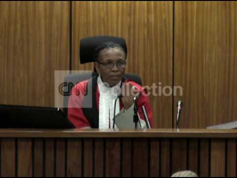 SOUTH AFRICA: PISTORIUS TRIAL DAY 7