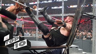 Wildest moments inside Hell in a Cell - WWE Top 10