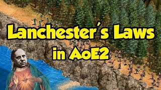 Lanchester's Laws in AoE2