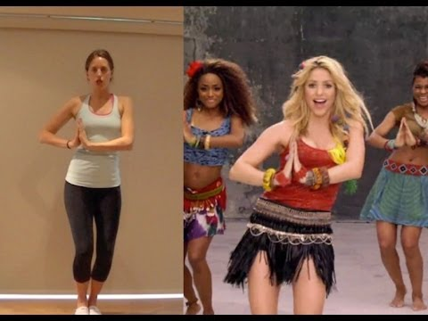 Shakira 'waka Waka' Dance Tutorial video