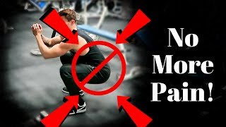 How To Squat WITHOUT Back Pain (Squat Checklist)