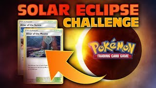 Pokemon SOLAR ECLIPSE Challenge?! TRY IT YOURSELF! We Challenge YOU!