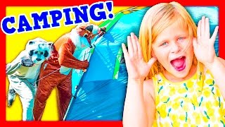 ASSISTANT Camping Adventure TheEngineeringFamily Funny  Video