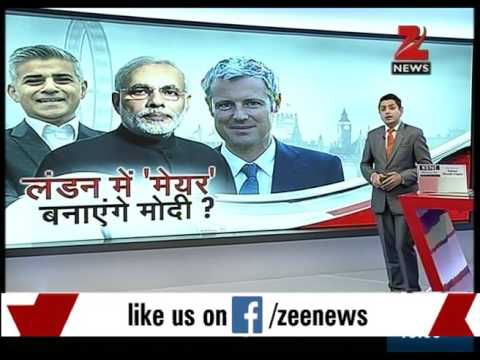 PM Narnedra Modi's name being used in Mayor's election campaign in London