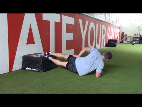 FEET ELEVETED SIDE PLANK WITH UP DOWN MOVEMENT | Richtige Technik & Ausführung