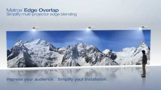 Matrox Edge Overlap_ Simplify Multi-Projector Blending