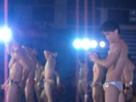 2013  Daragang Magayon Festival  Bikini Open   Contestant   dancing